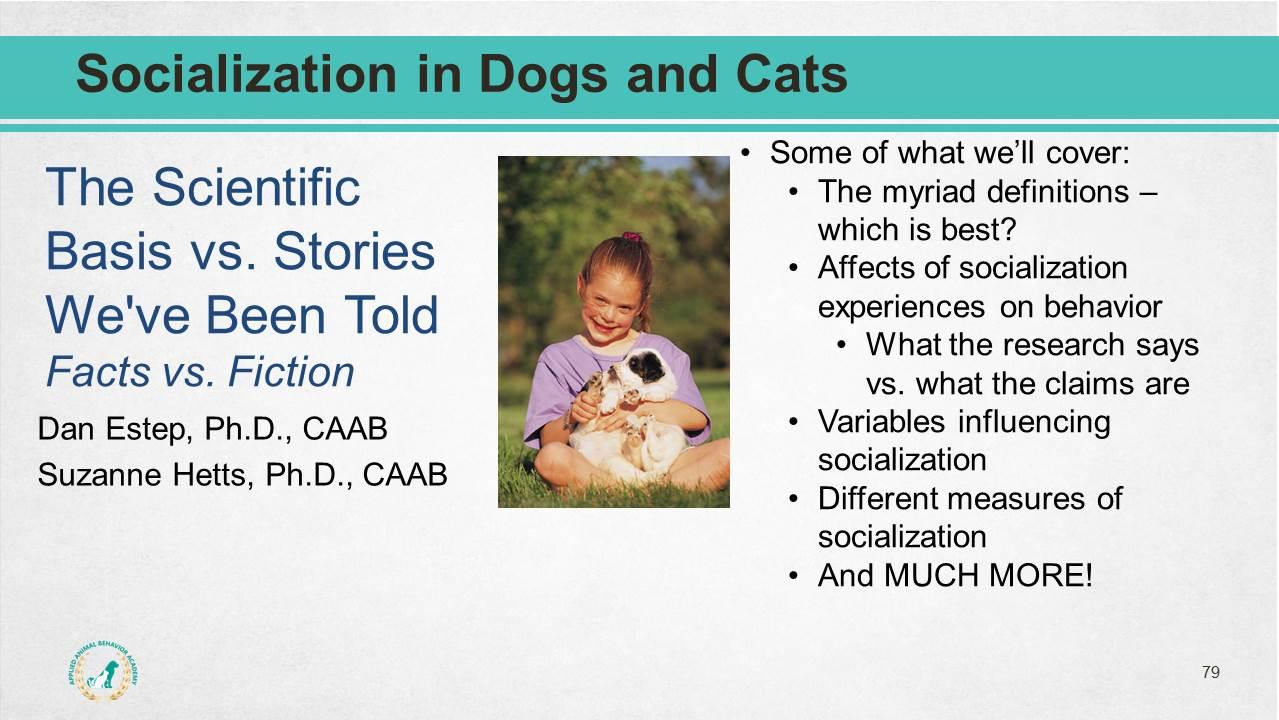 Dog Behavior Science Package Applied Animal Behavior Academy